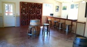 Interior of Lula Tasting Room