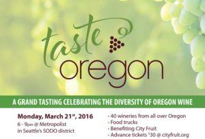 Taste Oregon